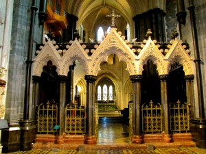 The altar of the Christchurch.