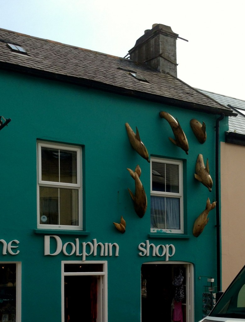 There's actually a store called The Dolphin Shop on the high street, dedicated to Fungie memorabilia.