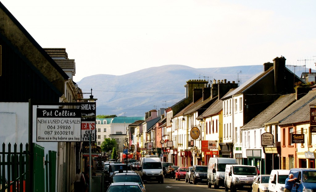 The town centre of Killarney is very pretty. Killarney is pretty focused on tourism, and everyone is very friendly.