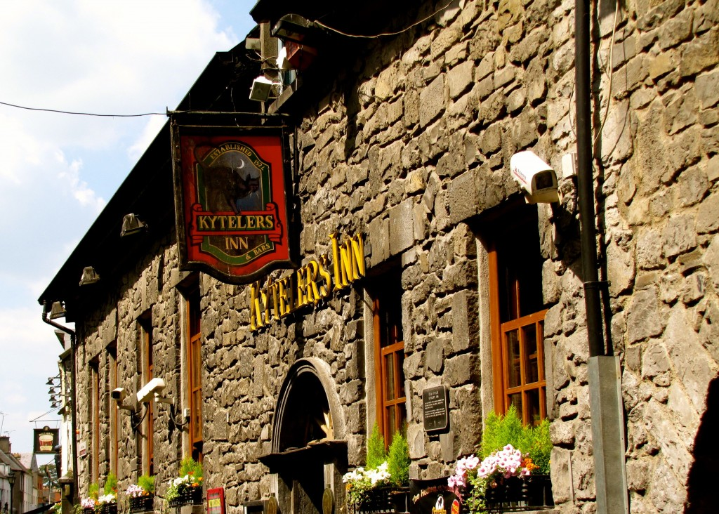 This is Kyteler's Inn, where I had dinner both last night and tonight. It's the home of the last witch burned in Ireland.