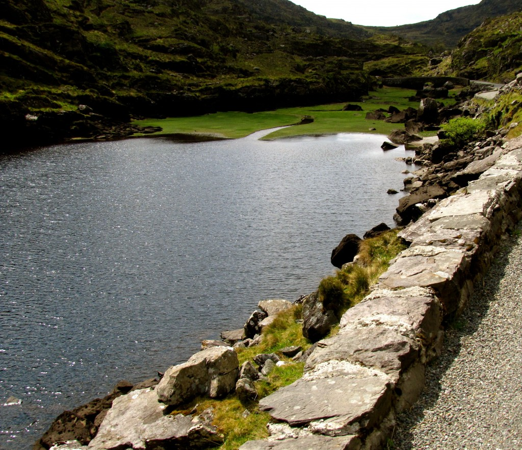 The last lake in the gap is Serpent Lake, said to the be the place where St. Patrick eliminated the last snake in Ireland.