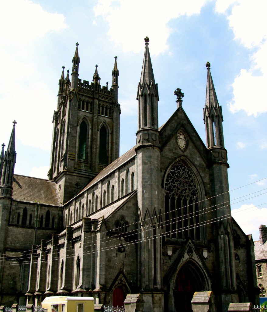 St. Mary's Cathedral was built in the 1840s. Also going on in Ireland in the 1840s? The famine. Perhaps a little hypocrisy in the Church at the time, spending money on this instead of feeding people.