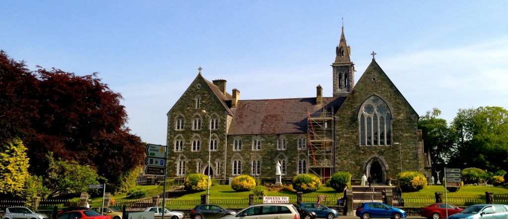 This is the church at the centre of town - the town being Killarney.