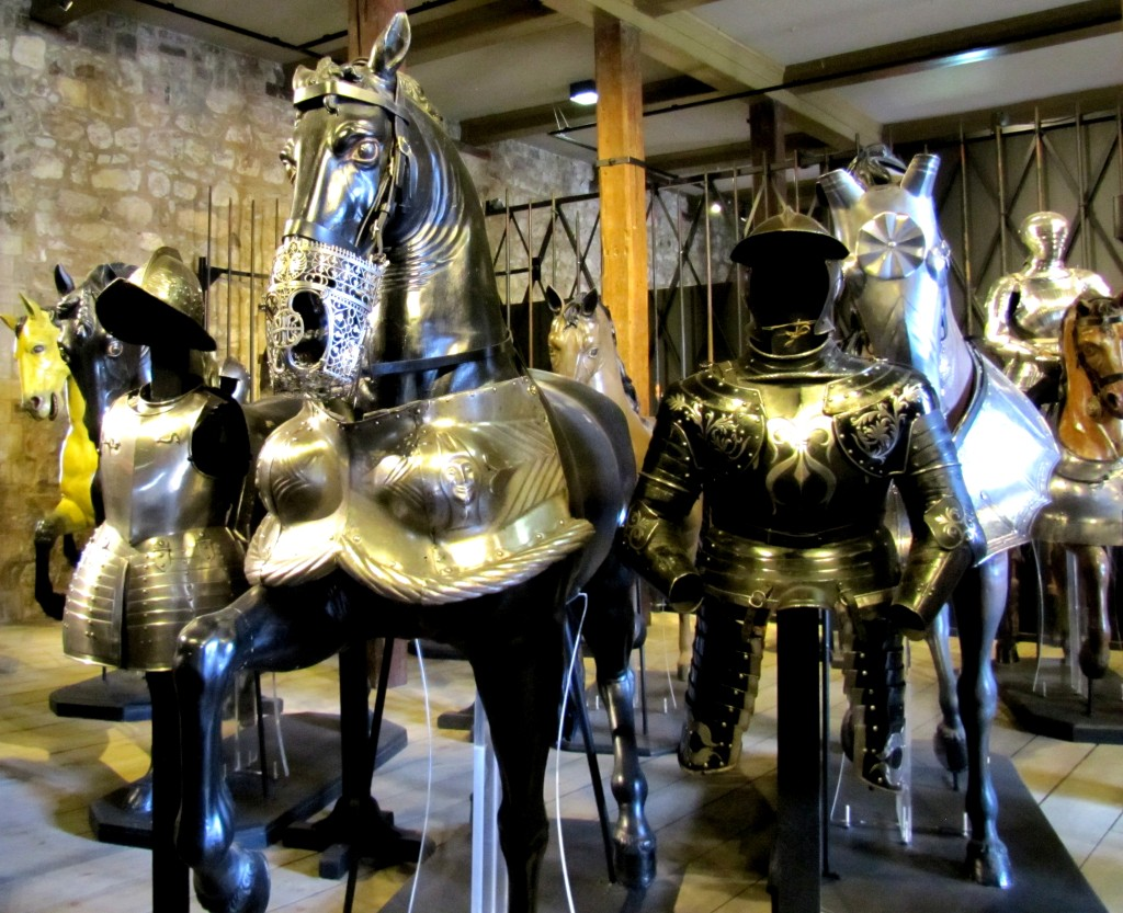 Like these sets of armour and barding.