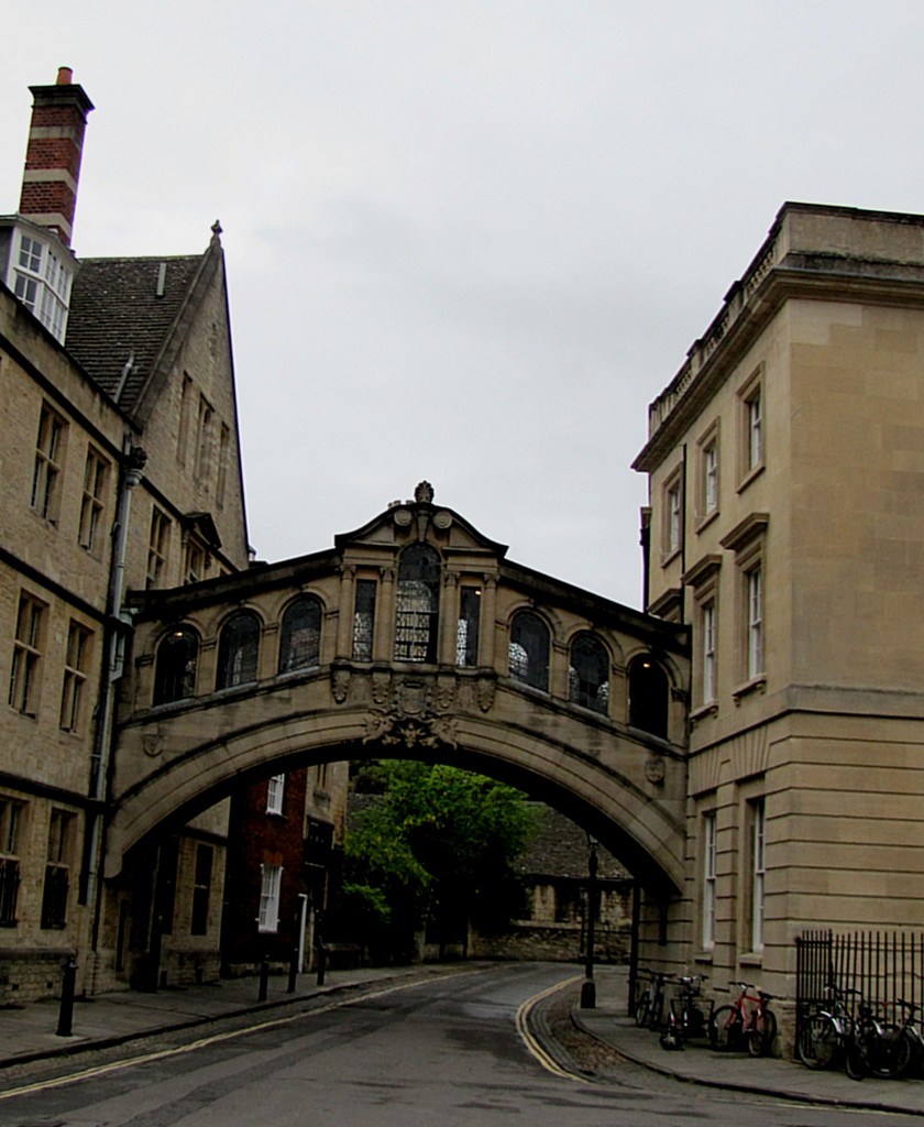 The Bridge of Sighs is much more recent than the surrounding buildings - completed in 1914. It had nothing to do with the Ghost Walk, but it is a cool and recognizable city landmark.