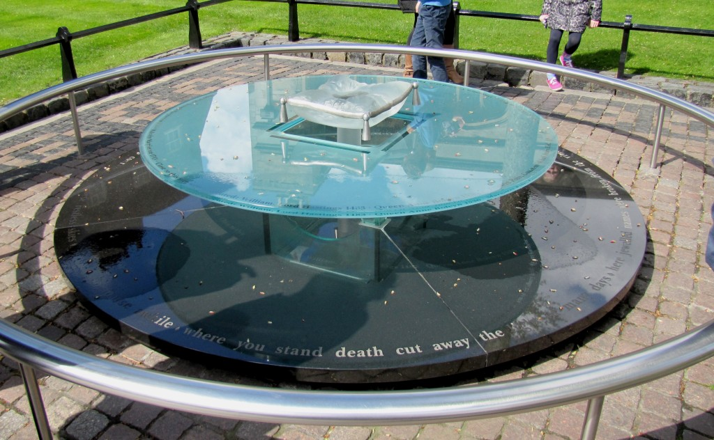 This memorial marks the spot on Tower Green where those six were executed.