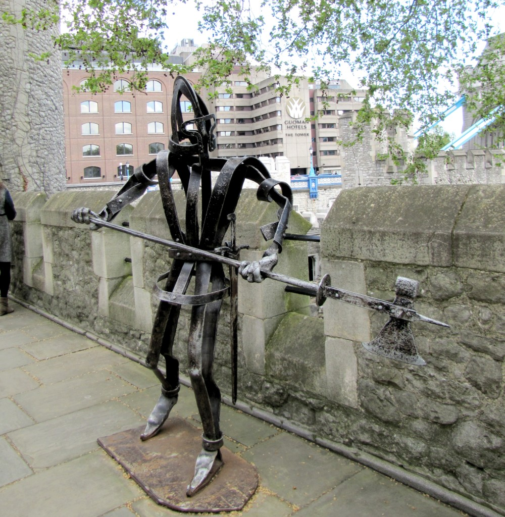 And this halberdier on the walls.