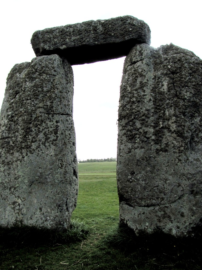 In keeping with these kinds of places, the stones mark an inside and an outside to the space. The outer ring was once made of trilothons like this, forming gateways through which things - people, animals, sunlight - entered.