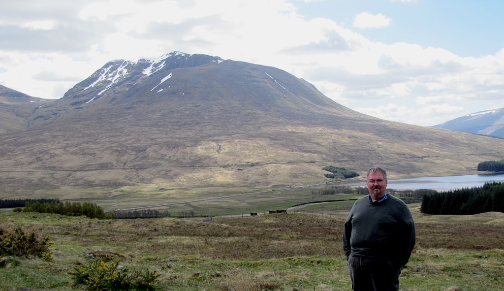 See? This is me in the highlands.