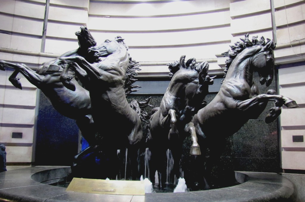 These are the Horses of Helios. They're kinda cool.