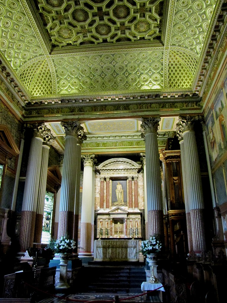 Castle Howard chapel. Tiny and perfect.