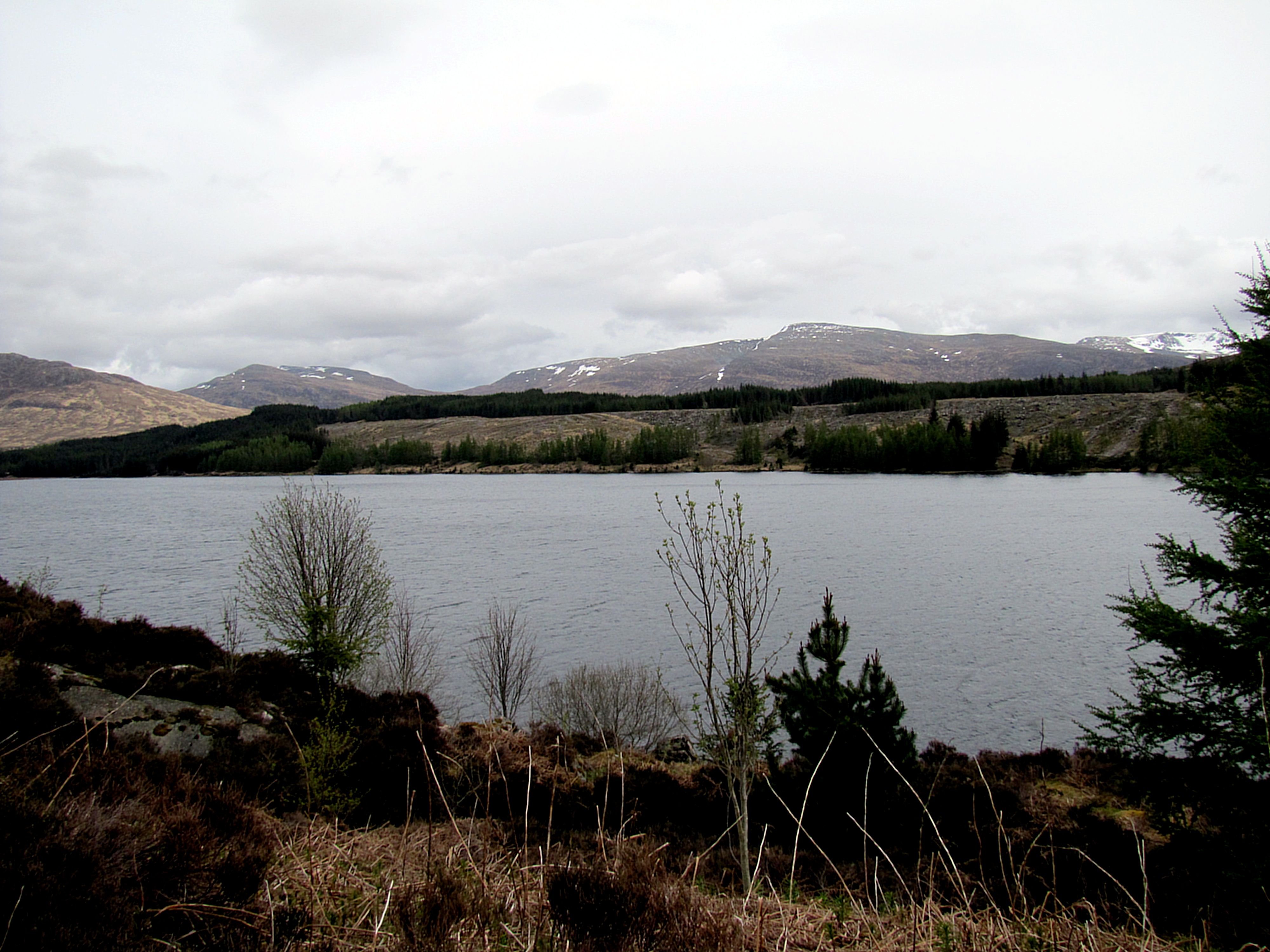 This is Loch Lagan. Again, beautiful scenery.