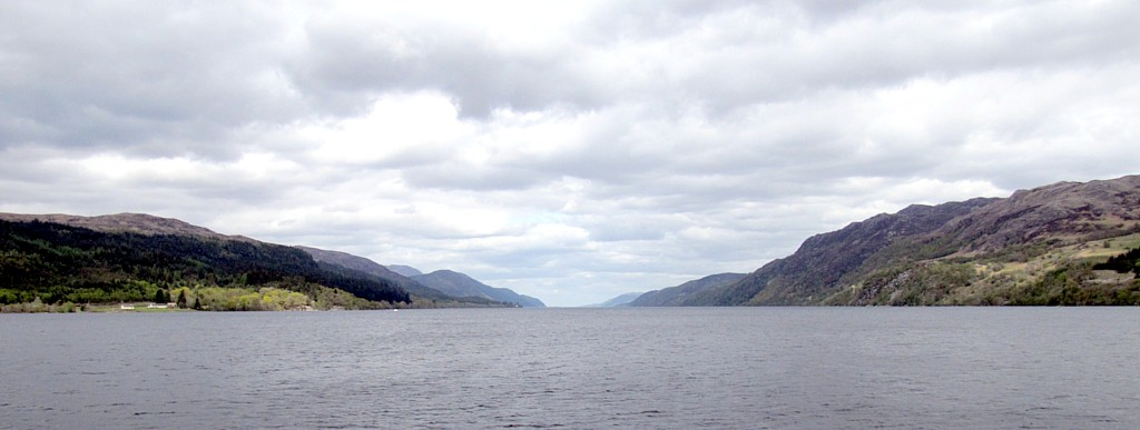 I really wasn't clear on how big Loch Ness actually is. It's huge. Also, deep. We spent about an hour on the water, using sonar to try and spot the monster.