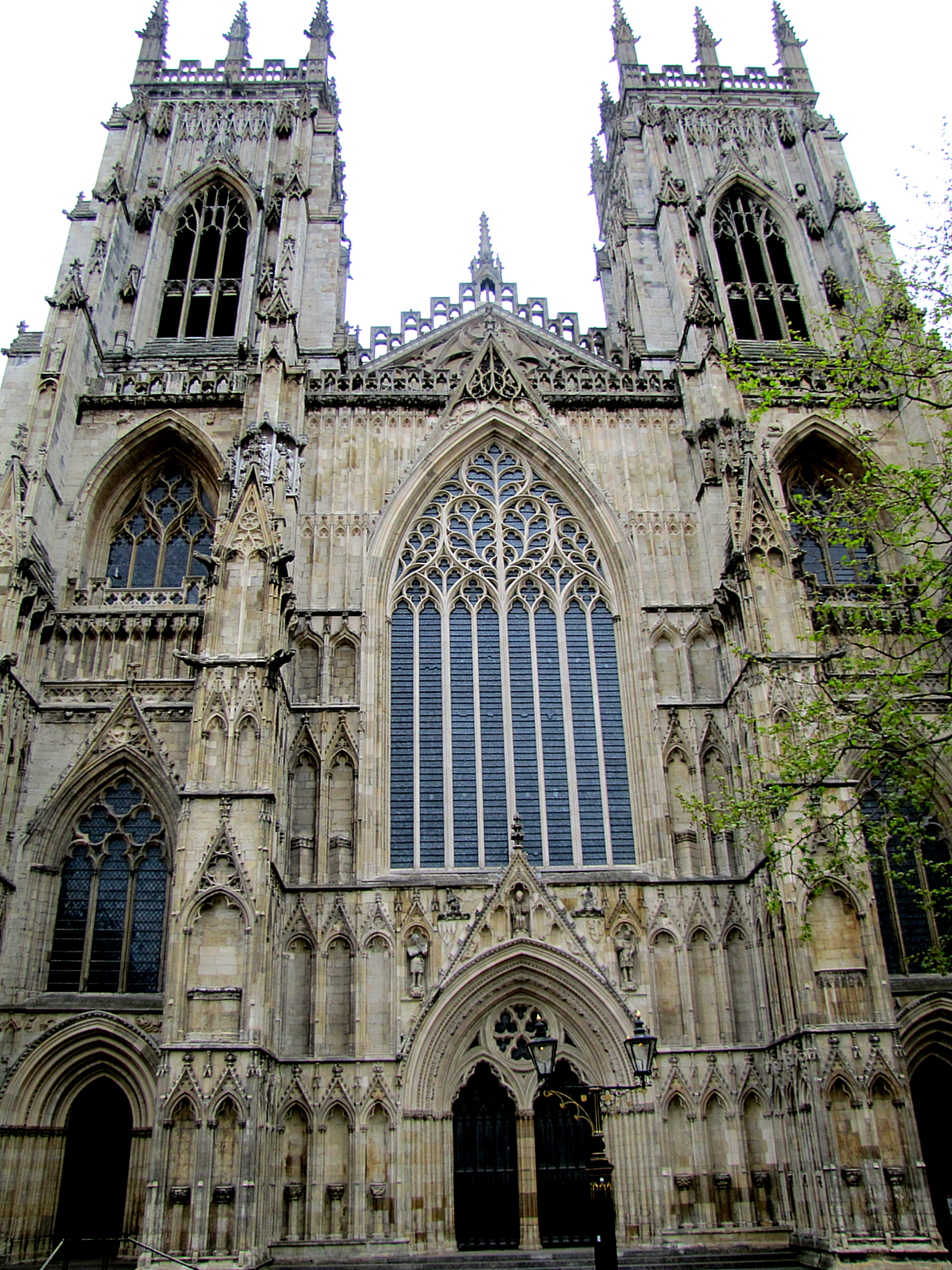 I started with York Minster. It's the largest Gothic cathedral in the UK. And it looms really well, which is kind of a requirement for Gothic architecture.