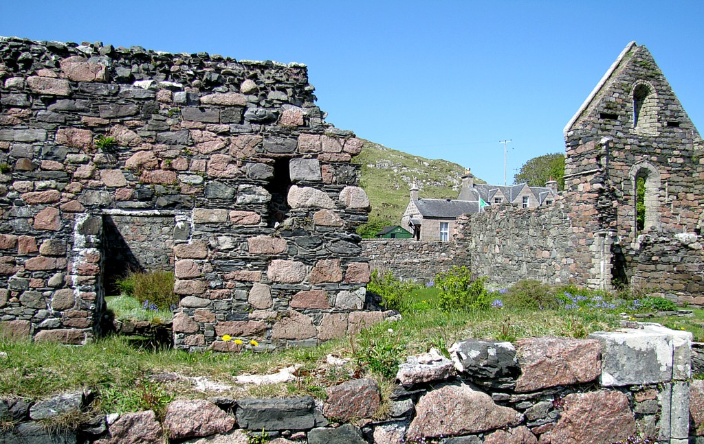 In the village on Iona is a 13th century nunnery.