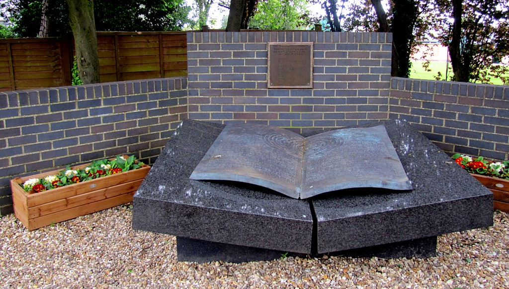 Just before Poland fell to Germany, Polish Intelligence shipped a whole bunch of their work, information, and materials to Bletchley Park. This gave the British a real leg up in their efforts, and is commemorated in this memorial.