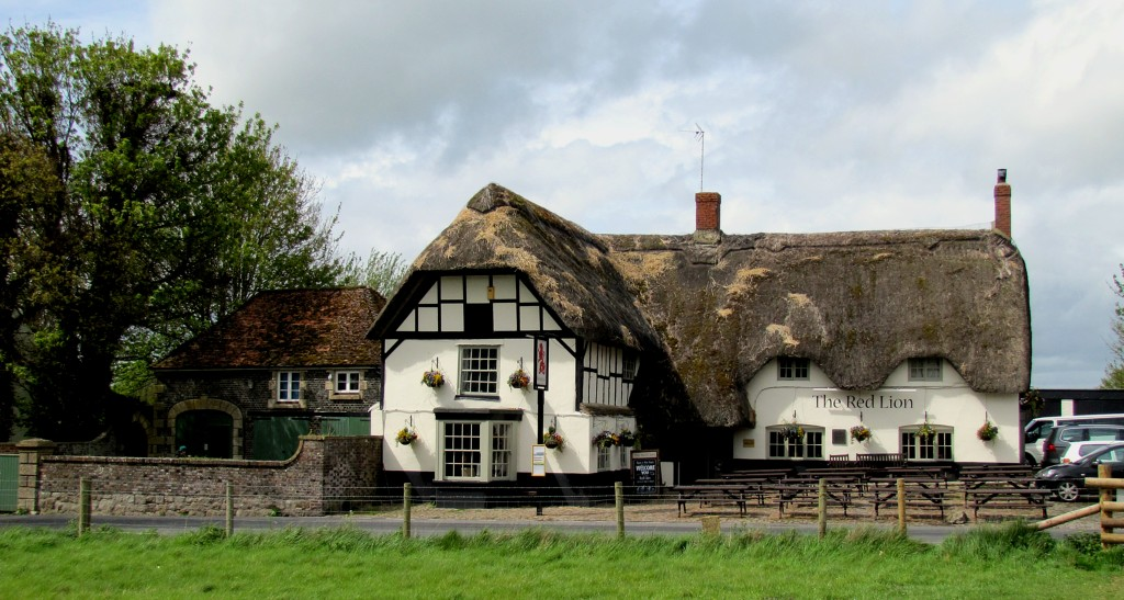 The Red Lion is the pub in Avebury. It brags that it is the only pub in the world that exists within a stone circle. Nice folks.
