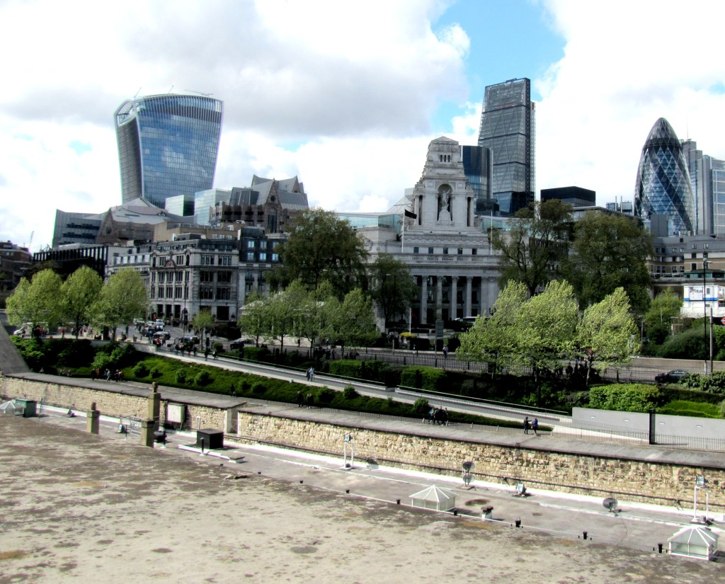 Skyline from Tower of London
