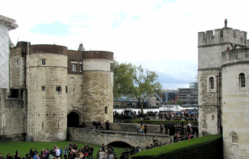 The entrance to the Tower.