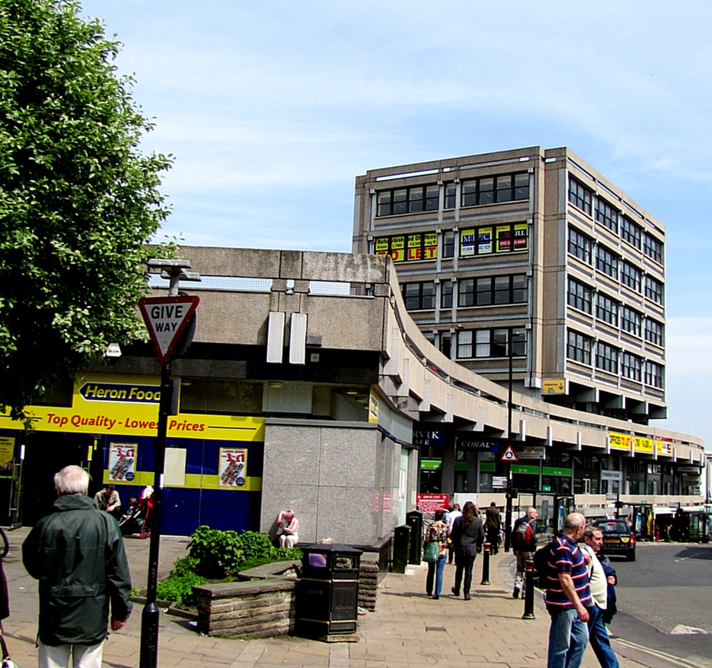 This building, near Whip-Ma-Whop-Ma Gate, apparently came in second in an Ugliest Building in the UK competition. Then the winner was demolished, so this is the ugliest building in the UK by default. The style is called Brutalism.