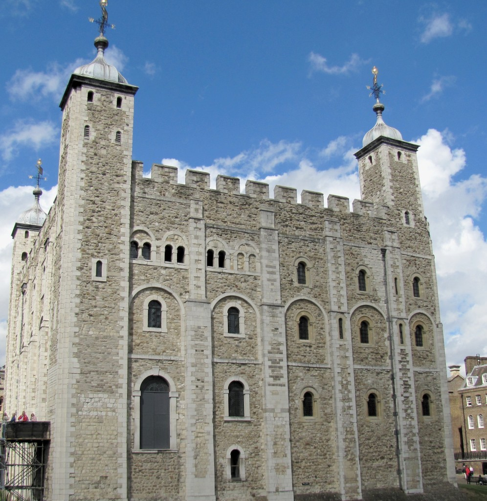 The White Tower is the oldest part of the Tower of London. It's full of amazing exhibits of arms and armour from throughout the almost 1000 years of the Tower's existence.