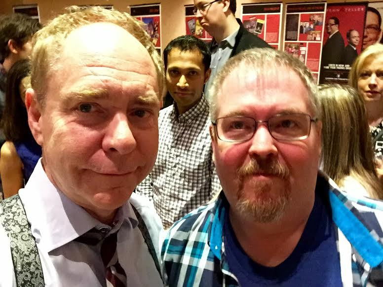 Teller doesn't exactly loom, but still has a few inches on me.